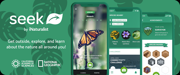 i-Naturalist Seek app